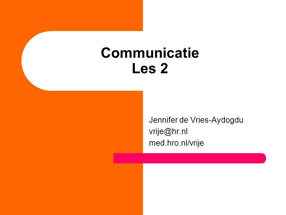 Jennifer de Vries-Aydogdu vrije@hr.nl med.hro.nl/vrije