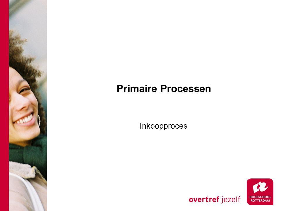 Primaire Processen Inkoopproces