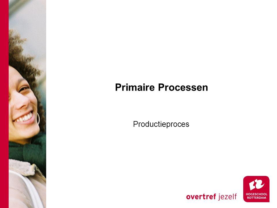 Primaire Processen Productieproces