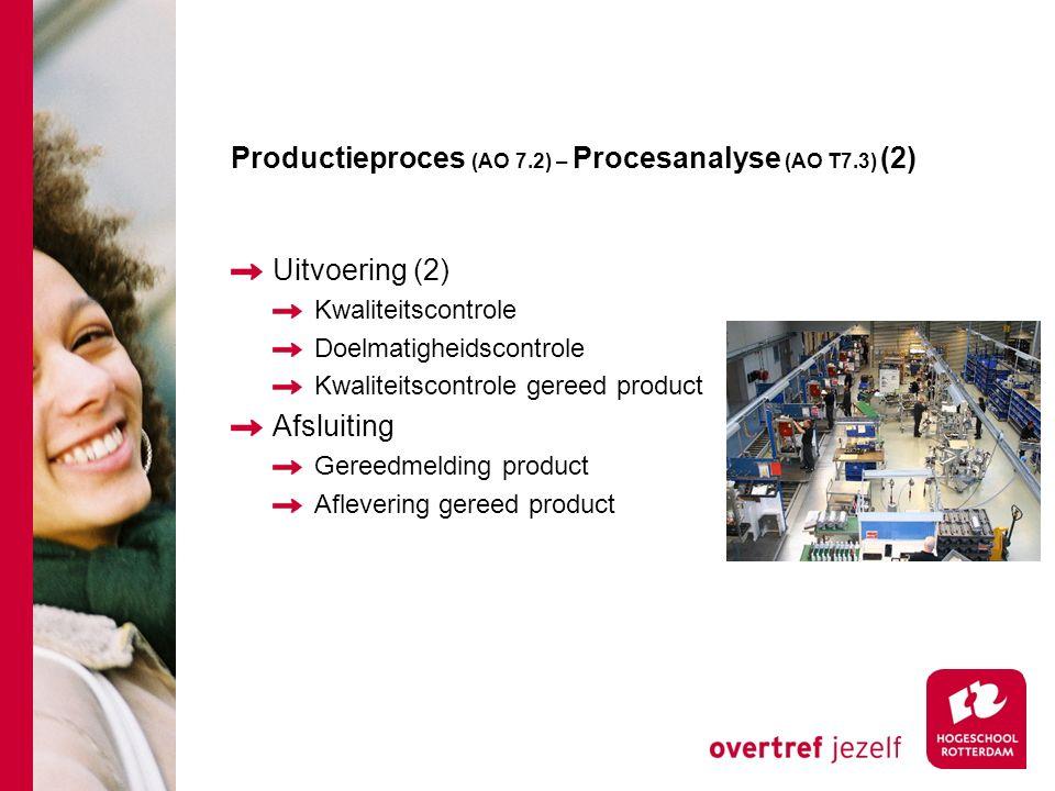 Productieproces (AO 7.2) – Procesanalyse (AO T7.3) (2)