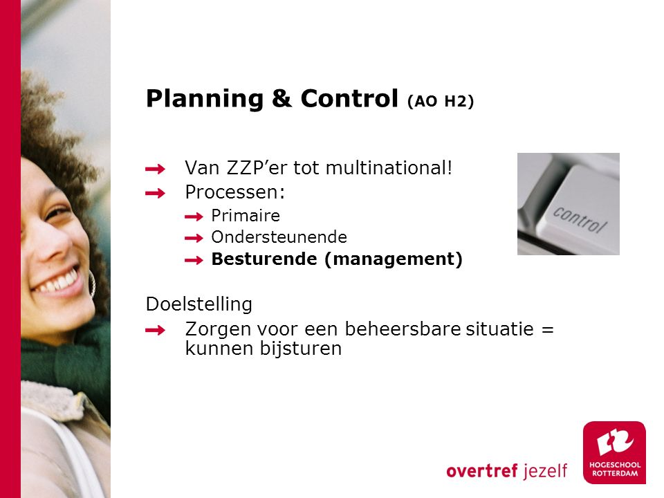 Planning & Control (AO H2)