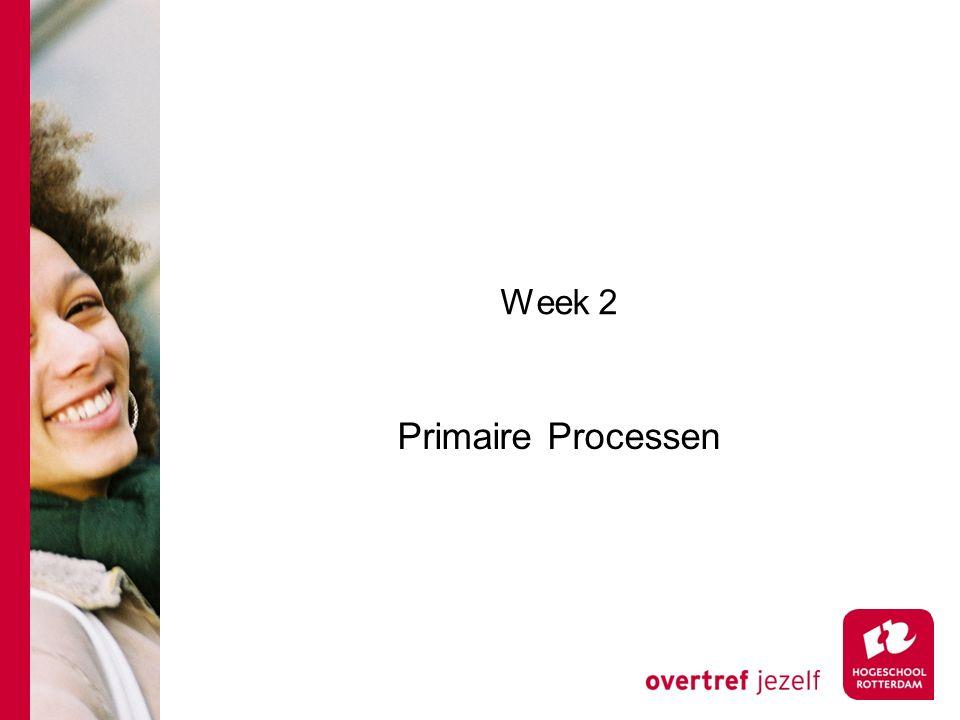 Week 2 Primaire Processen