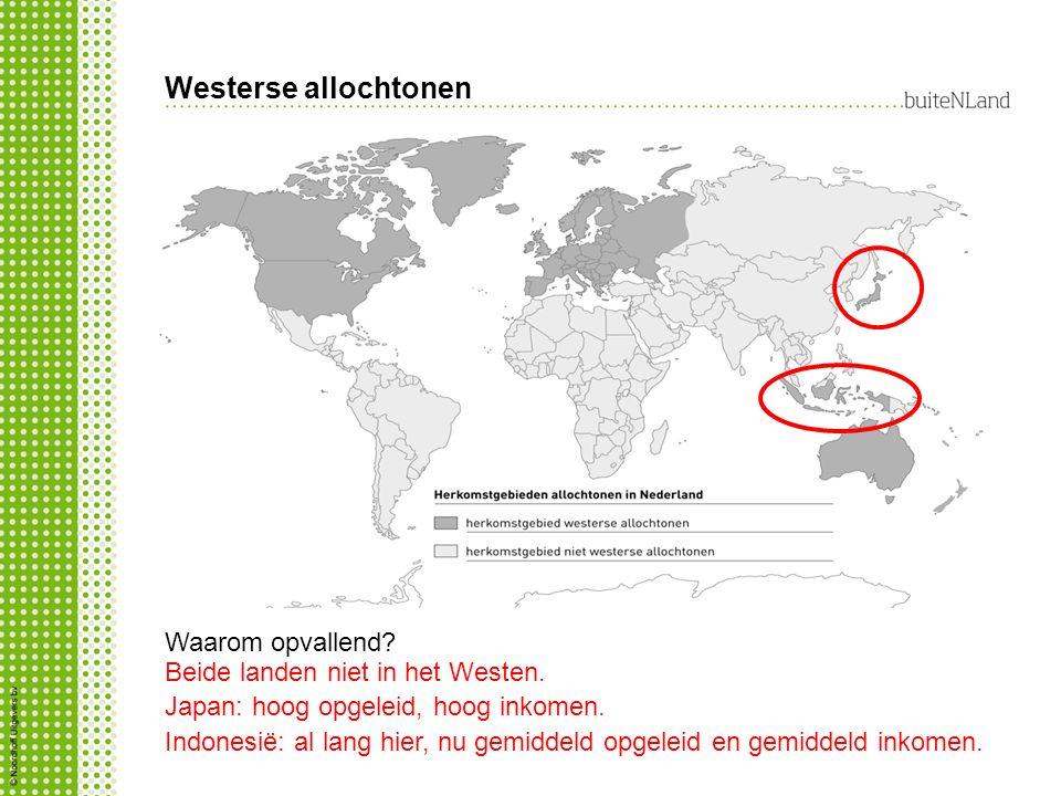 Westerse allochtonen Waarom opvallend
