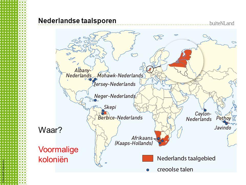 Nederlandse taalsporen