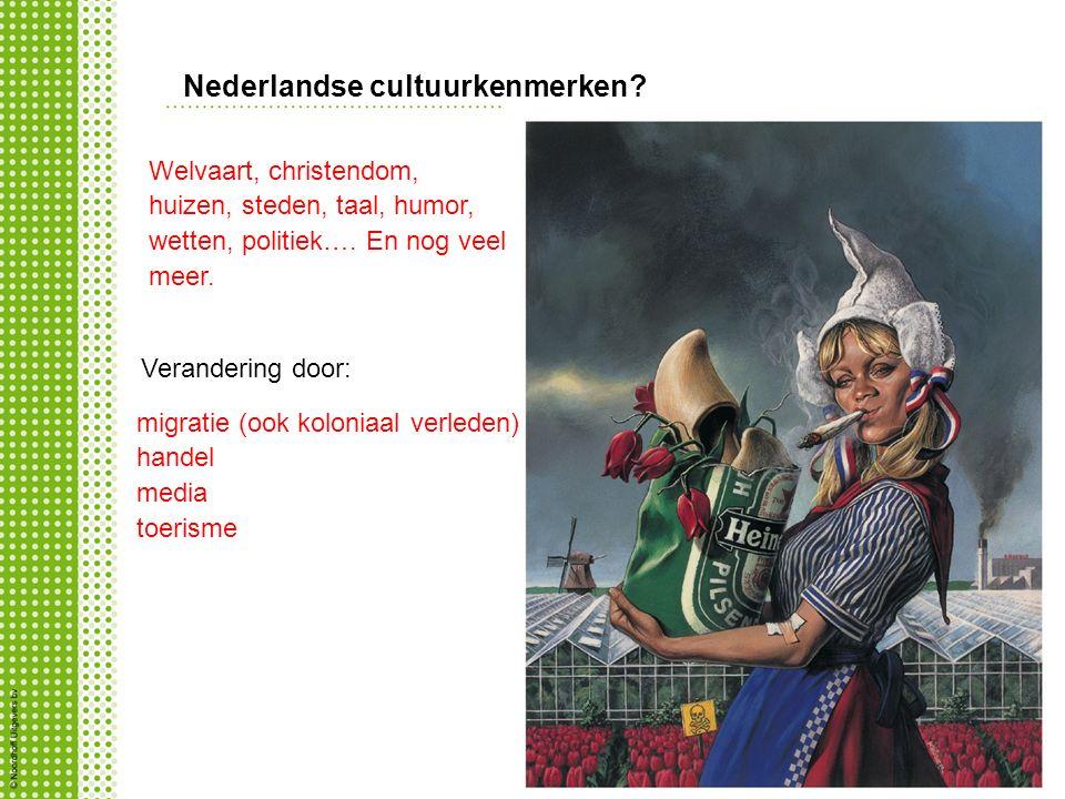 Nederlandse cultuurkenmerken