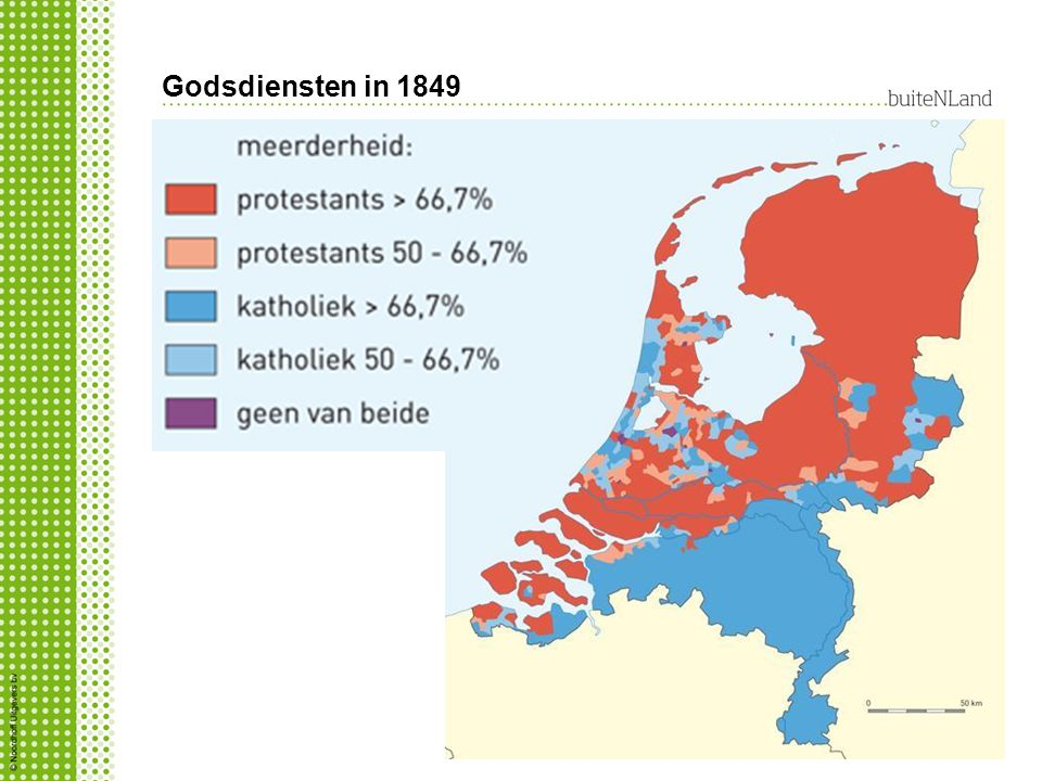 Godsdiensten in 1849