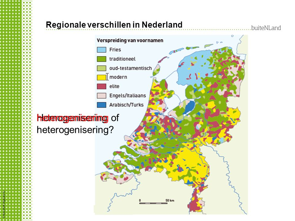 Regionale verschillen in Nederland