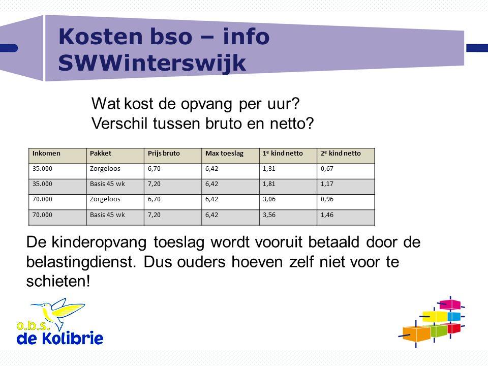 Kosten bso – info SWWinterswijk