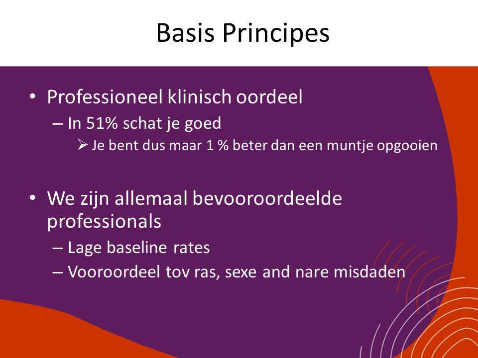 Basis Principes Professioneel klinisch oordeel