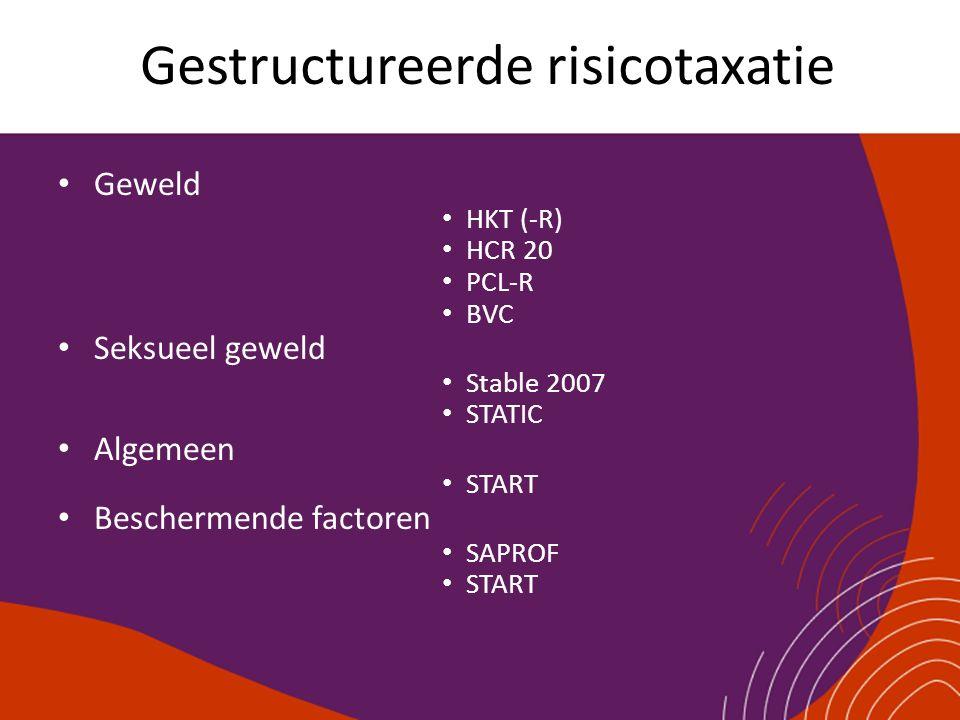 Gestructureerde risicotaxatie
