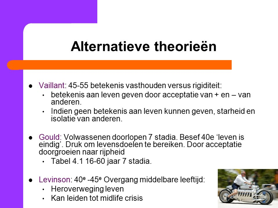 Alternatieve theorieën