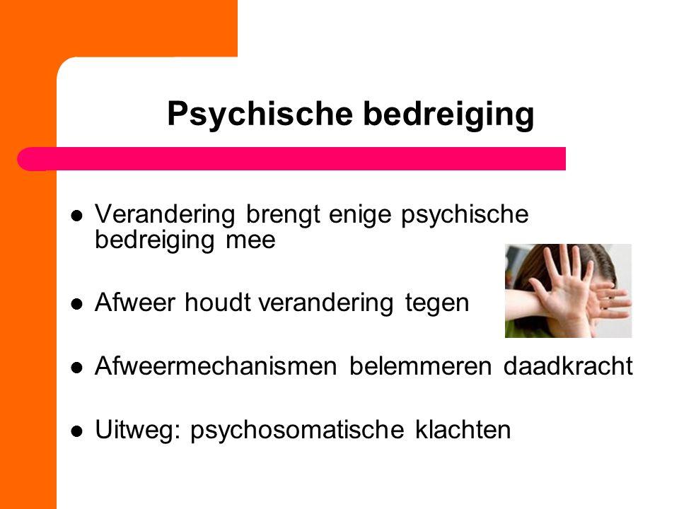 Psychische bedreiging