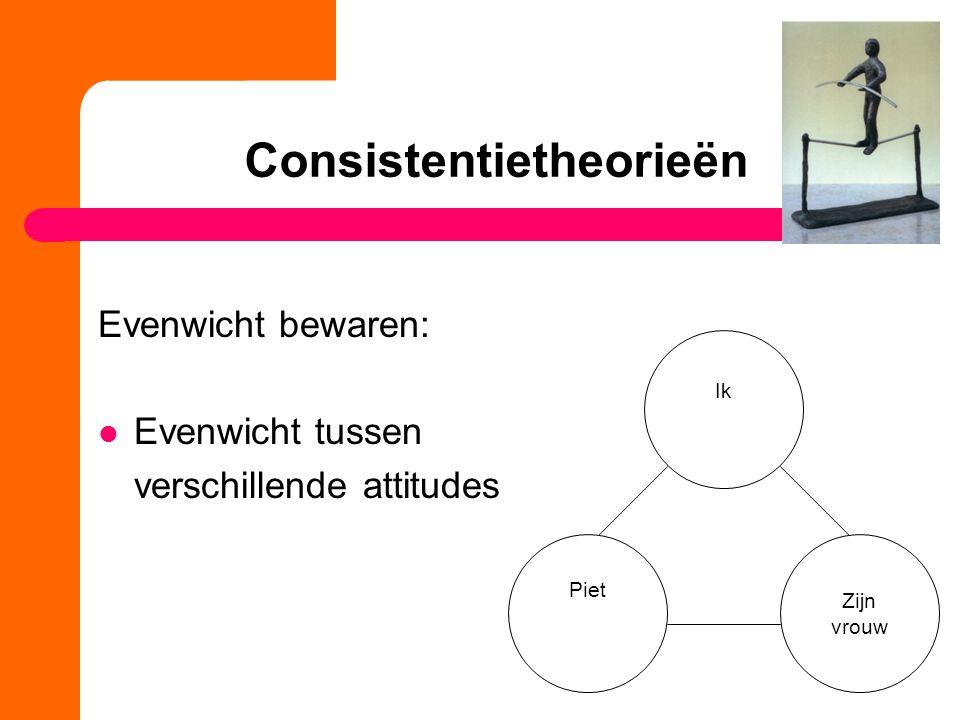 Consistentietheorieën