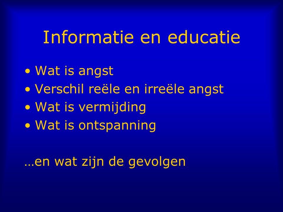 Informatie en educatie