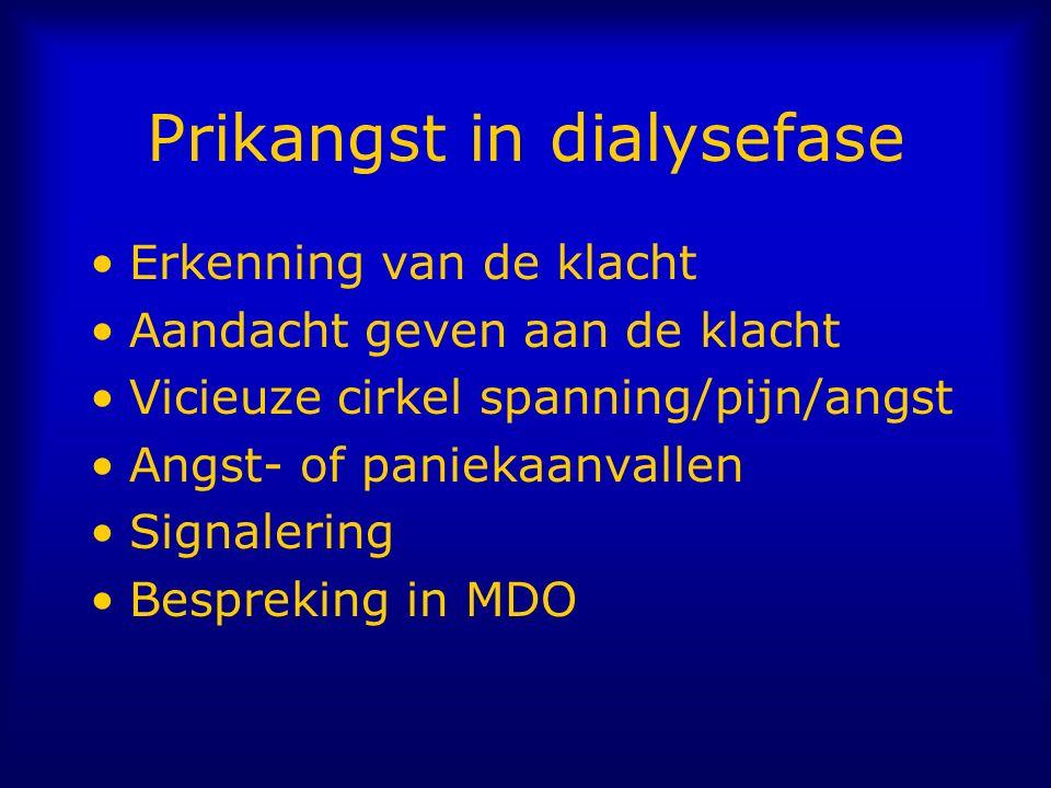 Prikangst in dialysefase