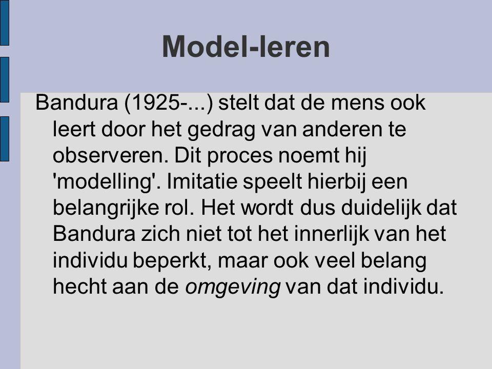 Model-leren