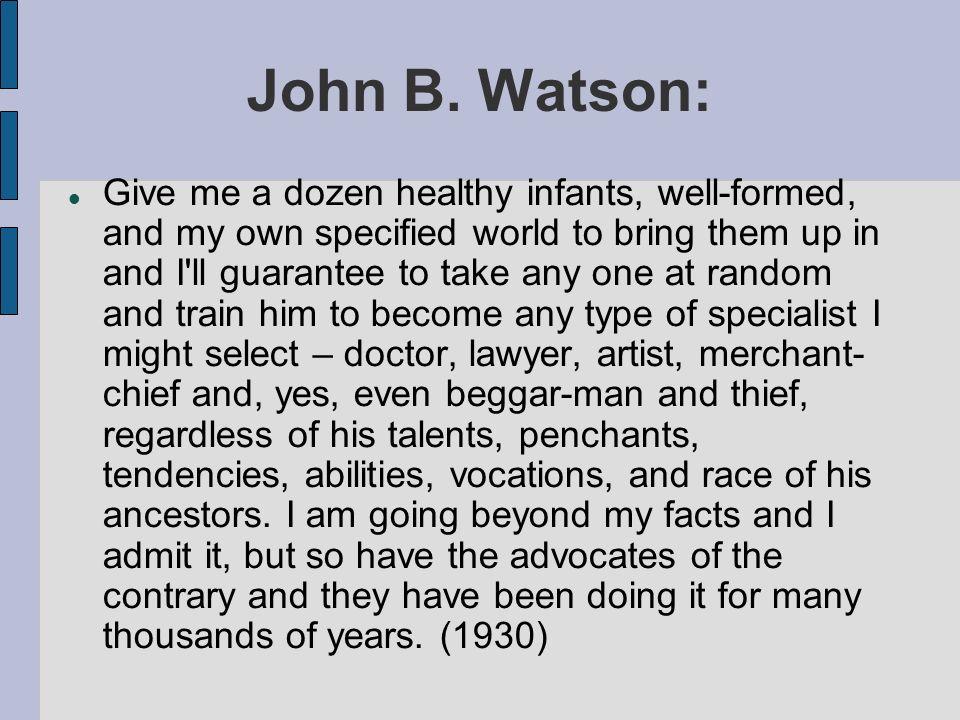 John B. Watson: