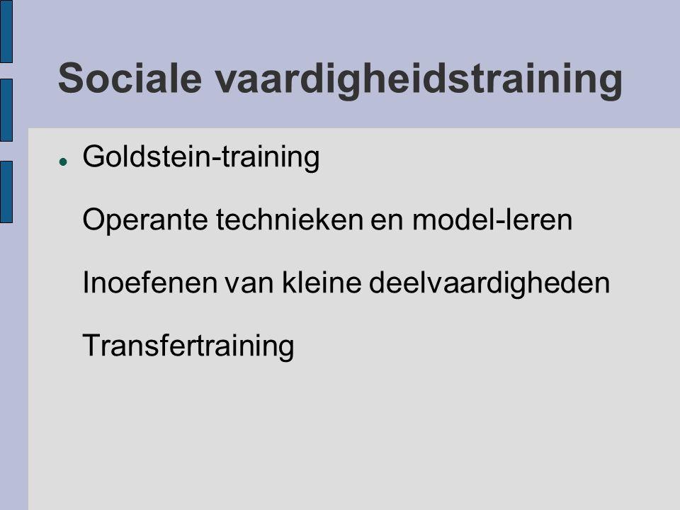 Sociale vaardigheidstraining