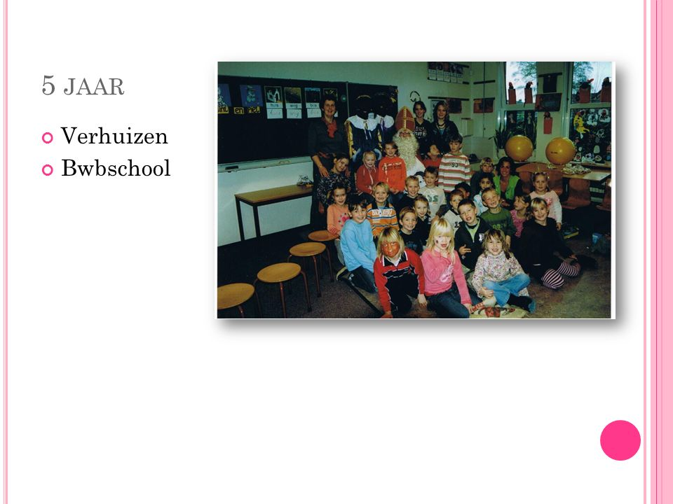 5 jaar Verhuizen Bwbschool