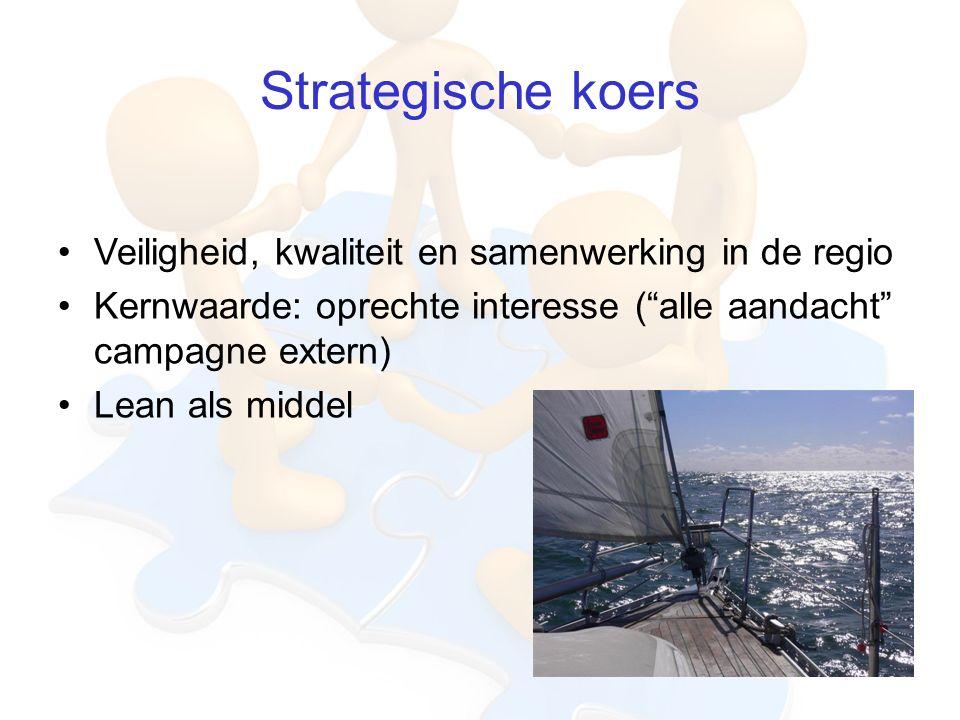 Strategische koers Veiligheid, kwaliteit en samenwerking in de regio