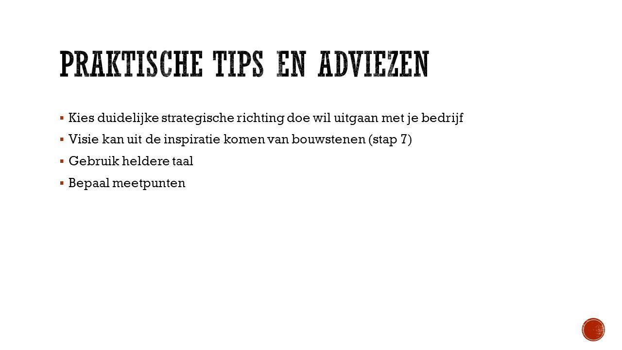 Praktische tips en adviezen