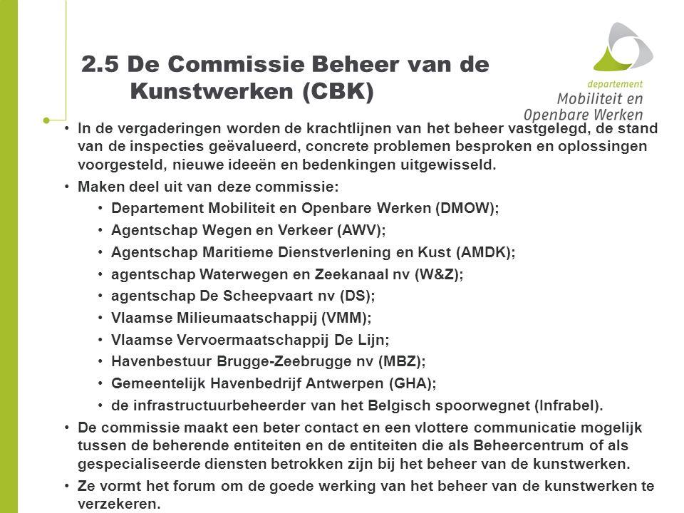 2.5 De Commissie Beheer van de Kunstwerken (CBK)