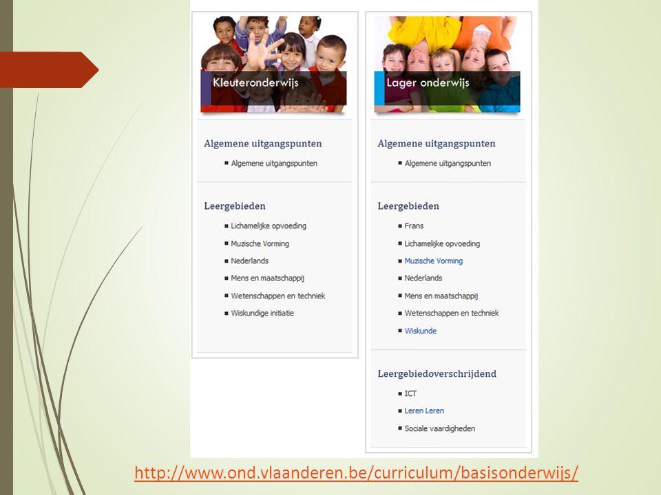 http://www.ond.vlaanderen.be/curriculum/basisonderwijs/