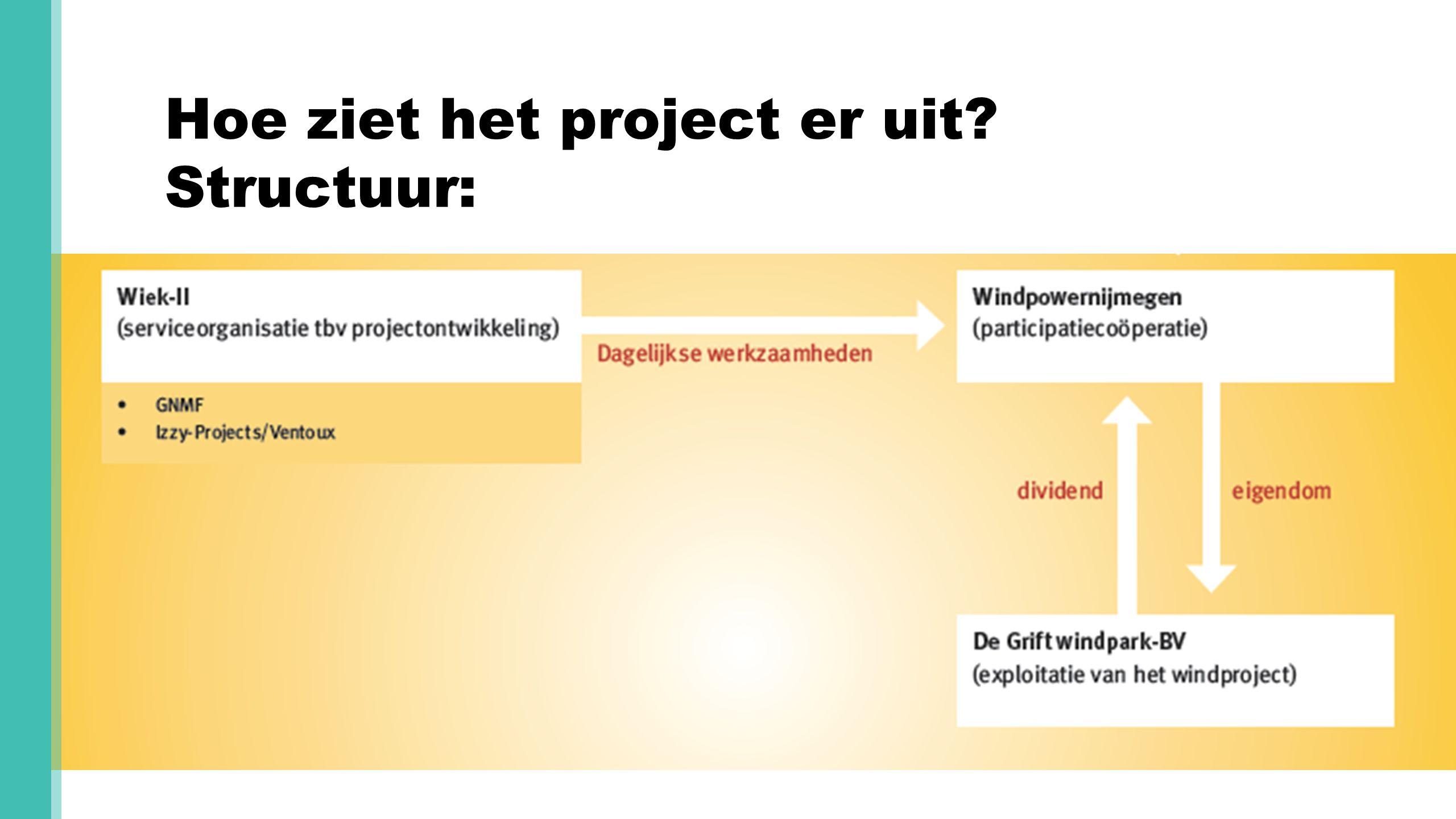 Hoe ziet het project er uit