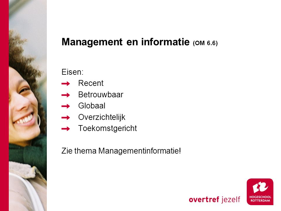 Management en informatie (OM 6.6)