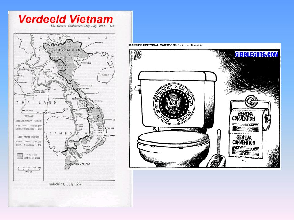 Verdeeld Vietnam