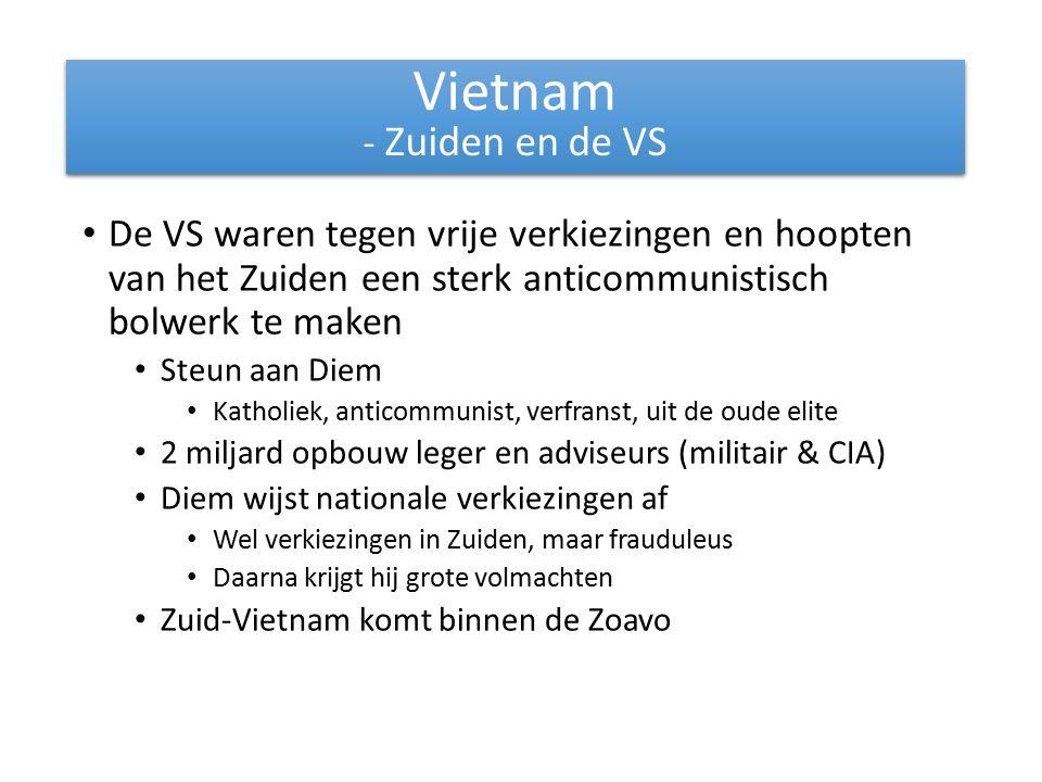Vietnam - Zuiden en de VS