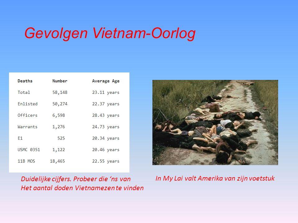 Gevolgen Vietnam-Oorlog