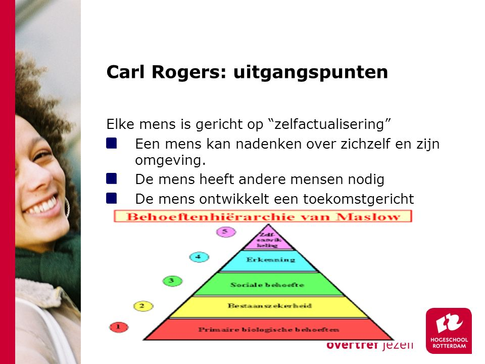 Carl Rogers: uitgangspunten