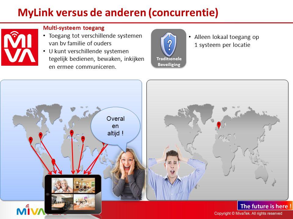MyLink versus de anderen (concurrentie)