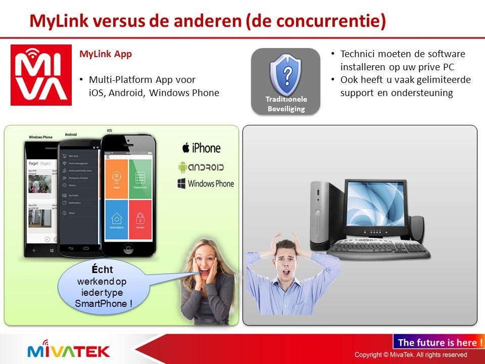 MyLink versus de anderen (de concurrentie)