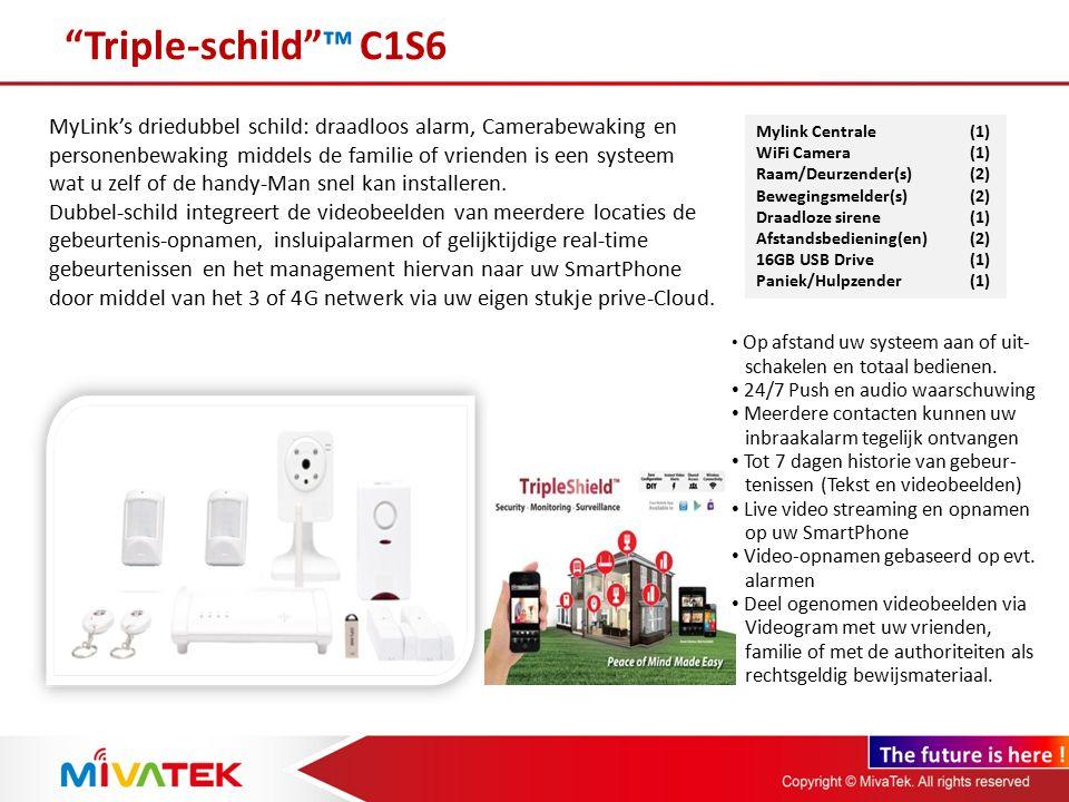 Triple-schild ™ C1S6