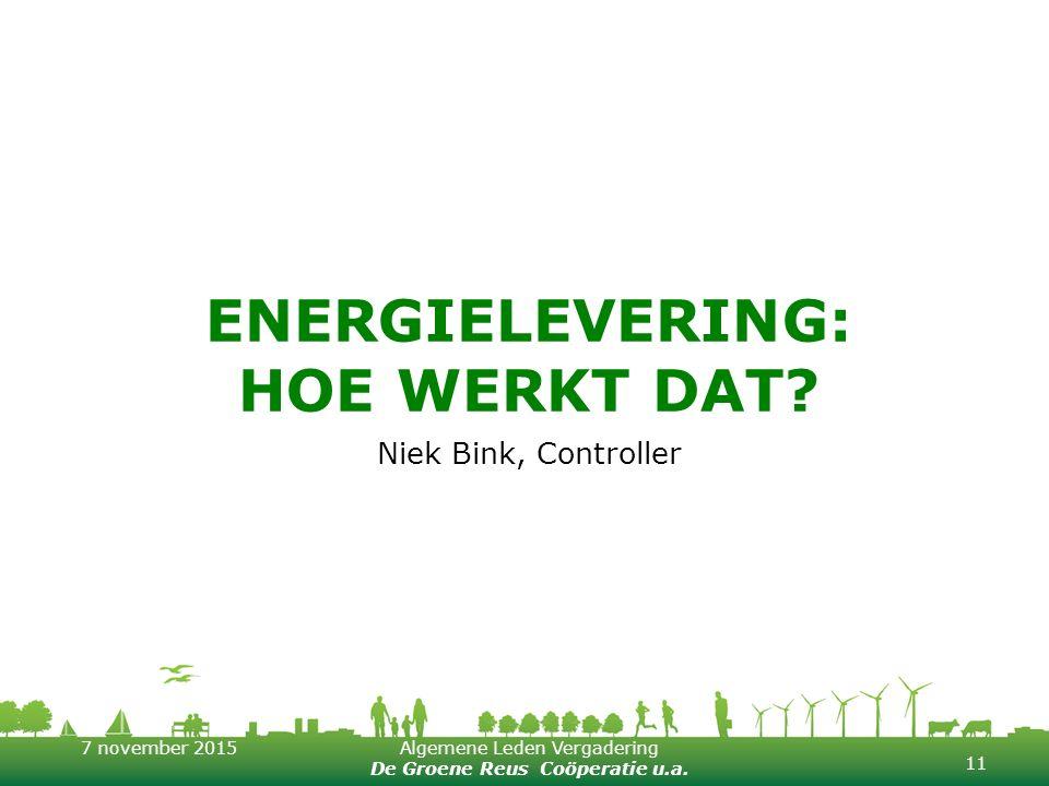 Energielevering: hoe werkt dat