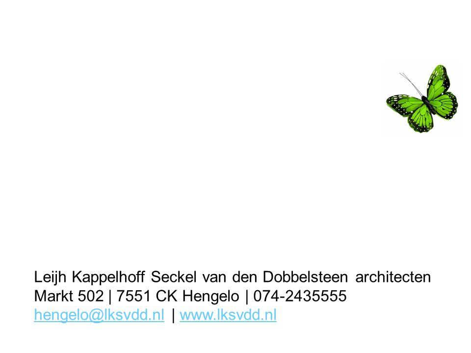 Leijh Kappelhoff Seckel van den Dobbelsteen architecten