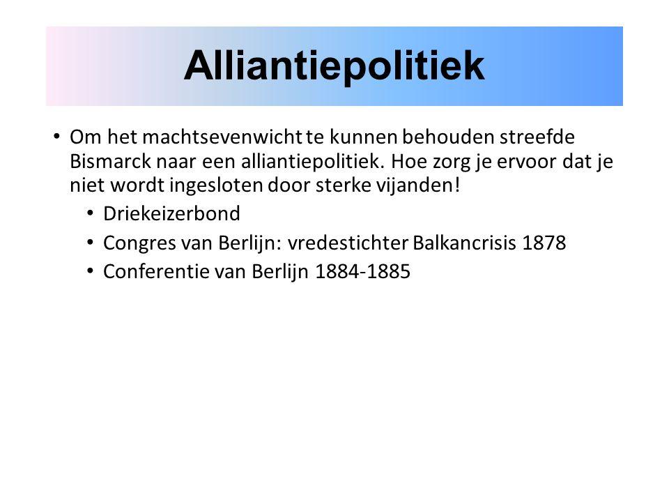 Alliantiepolitiek