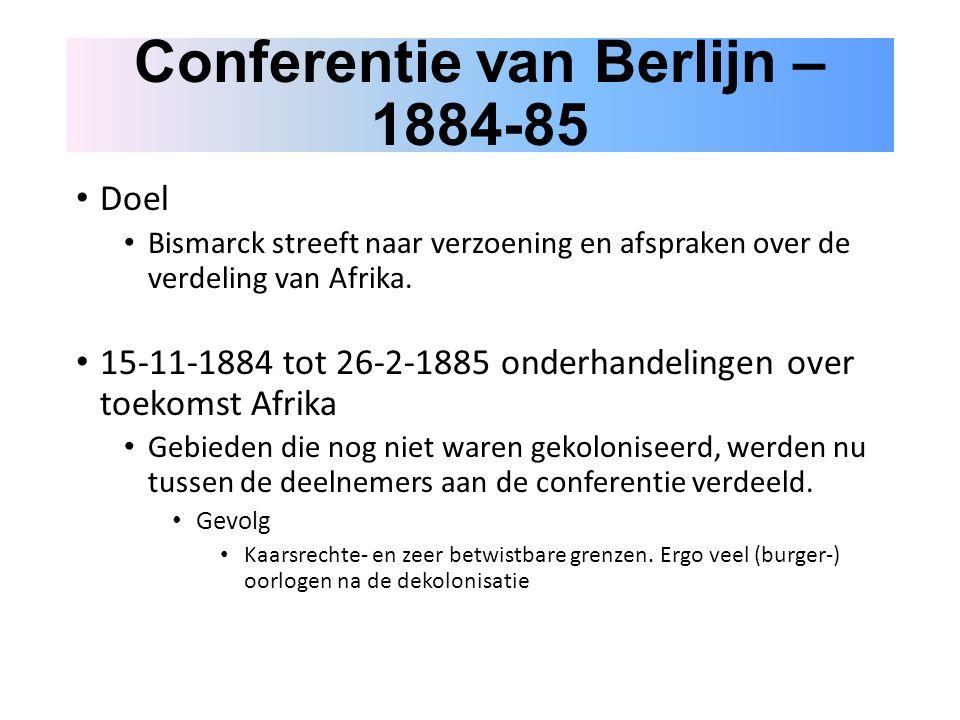 Conferentie van Berlijn – 1884-85