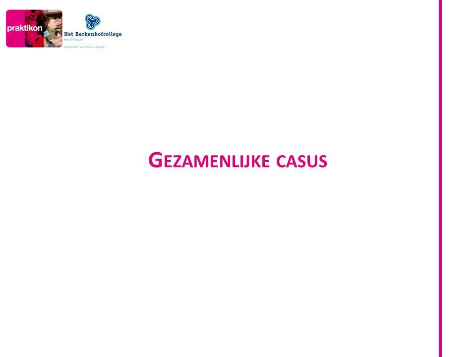 Gezamenlijke casus 0.15 – 0.20
