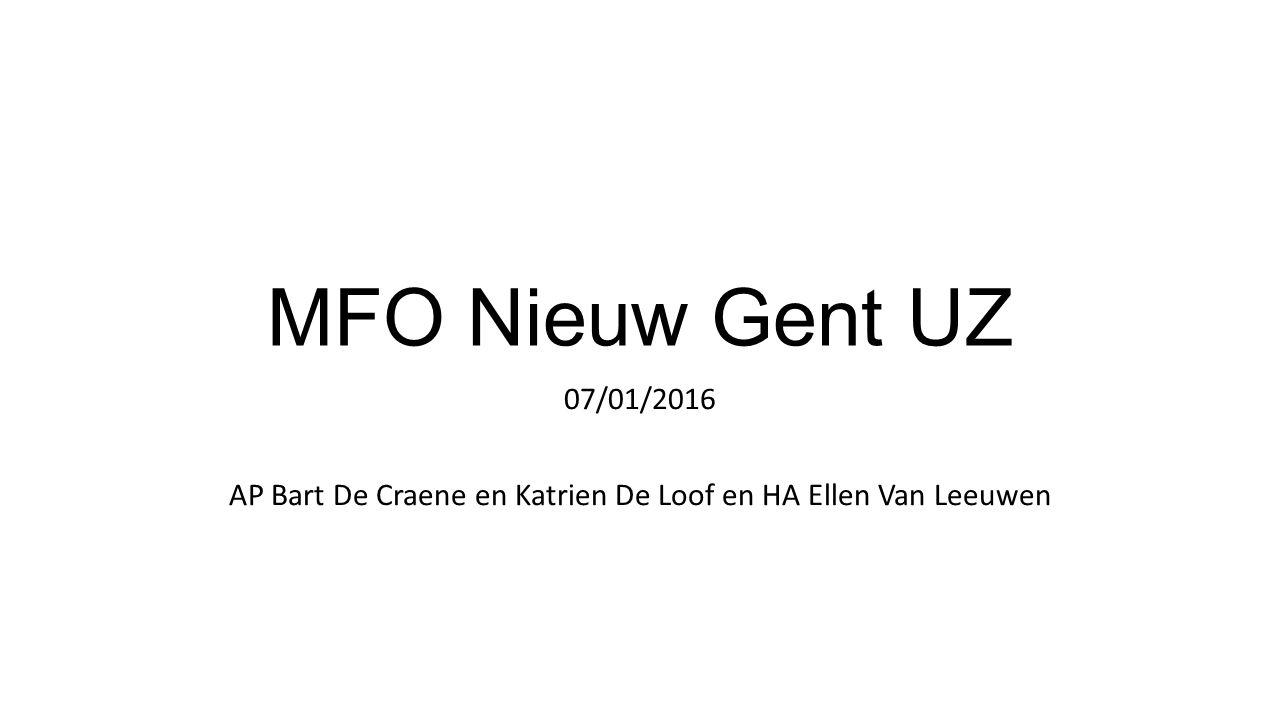 AP Bart De Craene en Katrien De Loof en HA Ellen Van Leeuwen