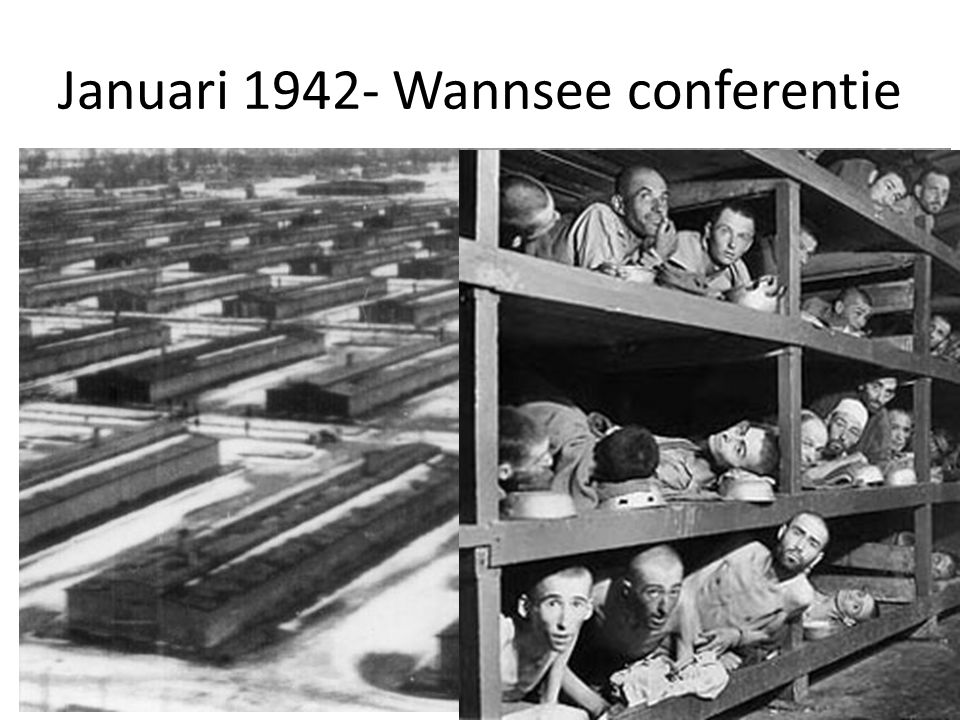 Januari 1942- Wannsee conferentie