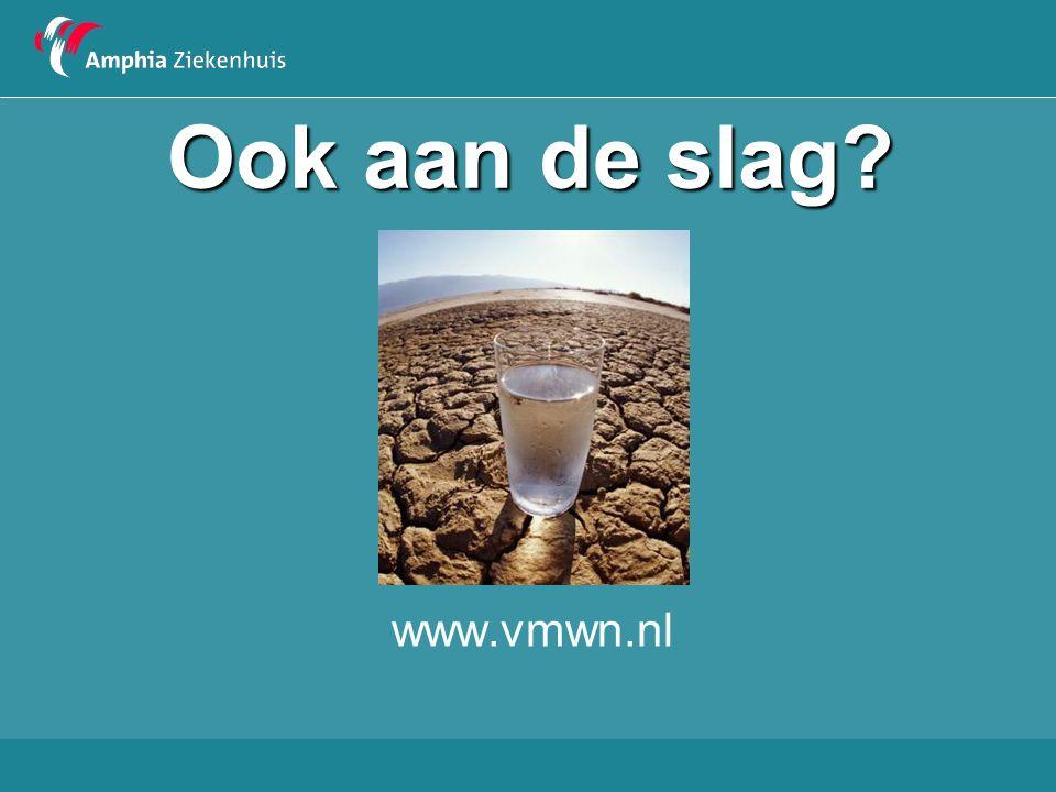 Ook aan de slag www.vmwn.nl