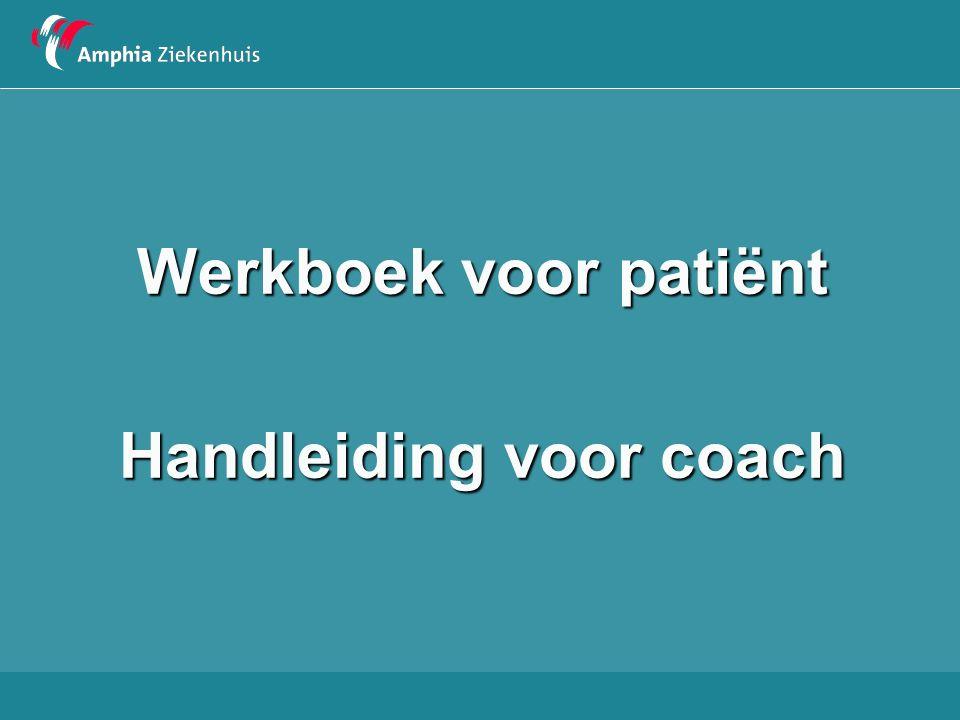 Handleiding voor coach