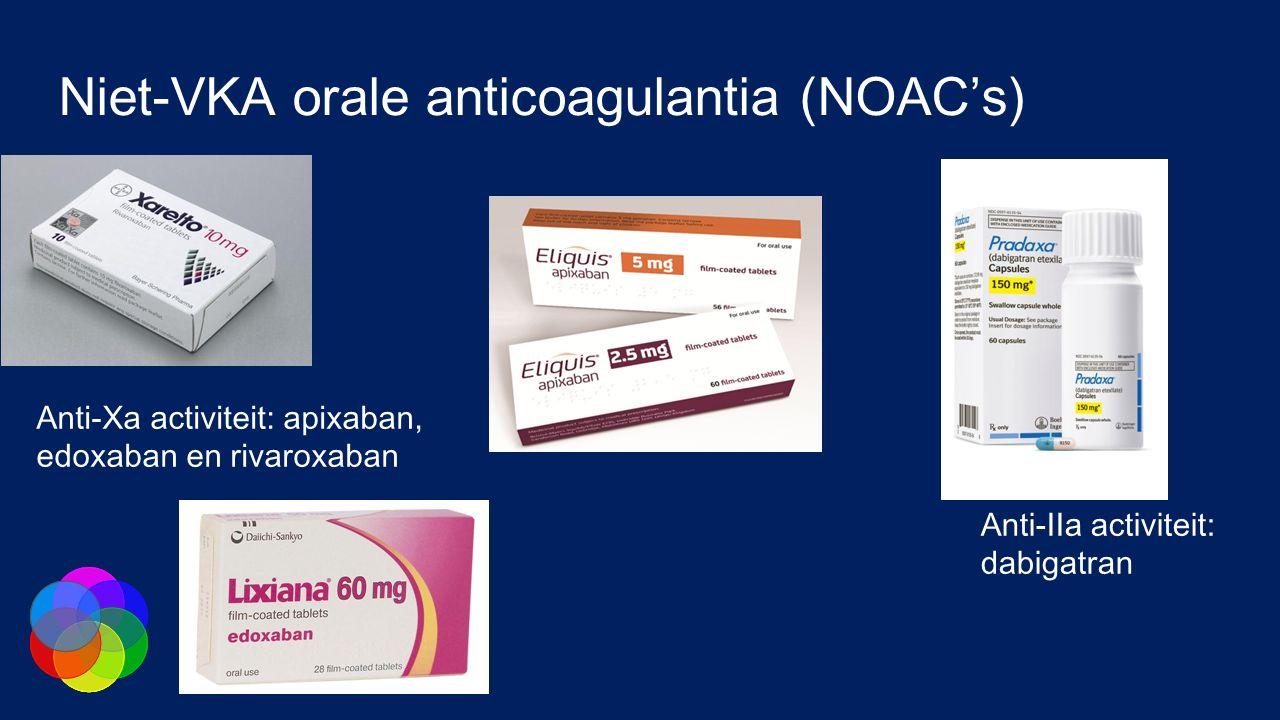 Niet-VKA orale anticoagulantia (NOAC's)