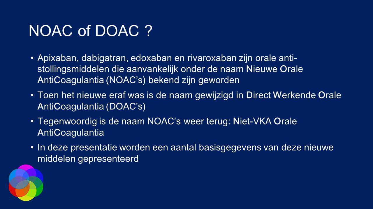 NOAC of DOAC