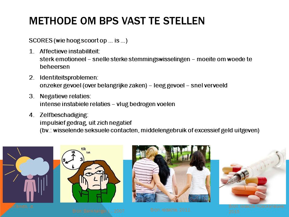 Methode om bPS vast te stellen