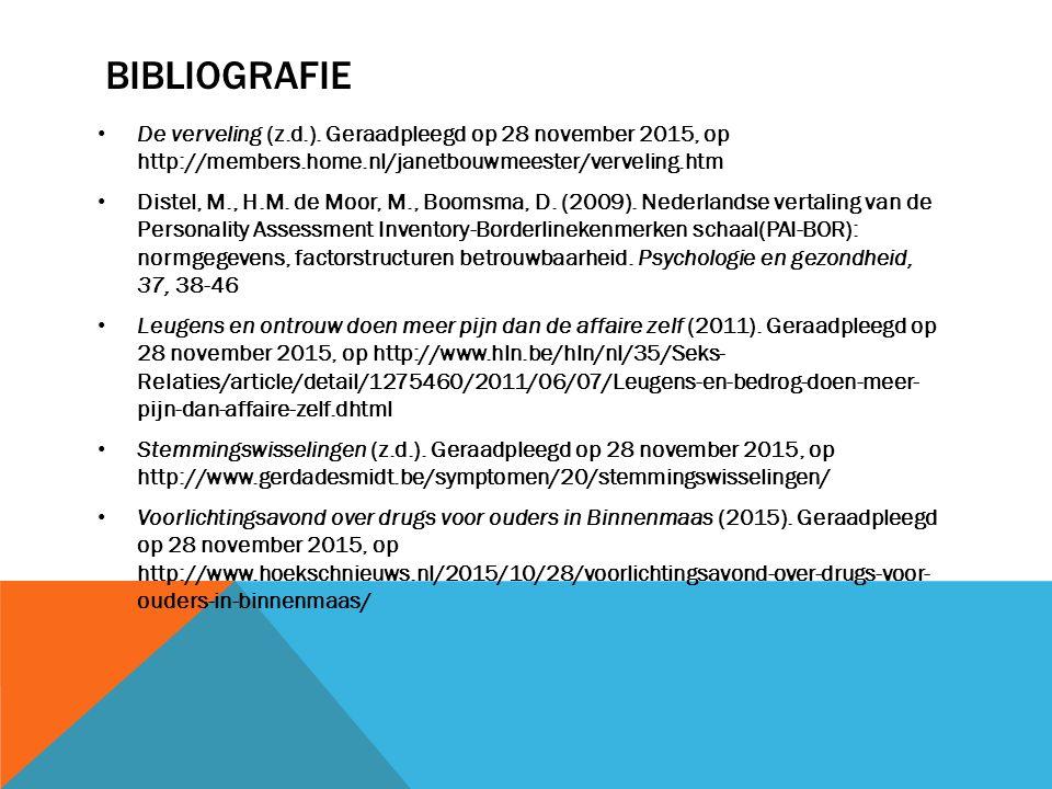 bibliografie De verveling (z.d.). Geraadpleegd op 28 november 2015, op http://members.home.nl/janetbouwmeester/verveling.htm.