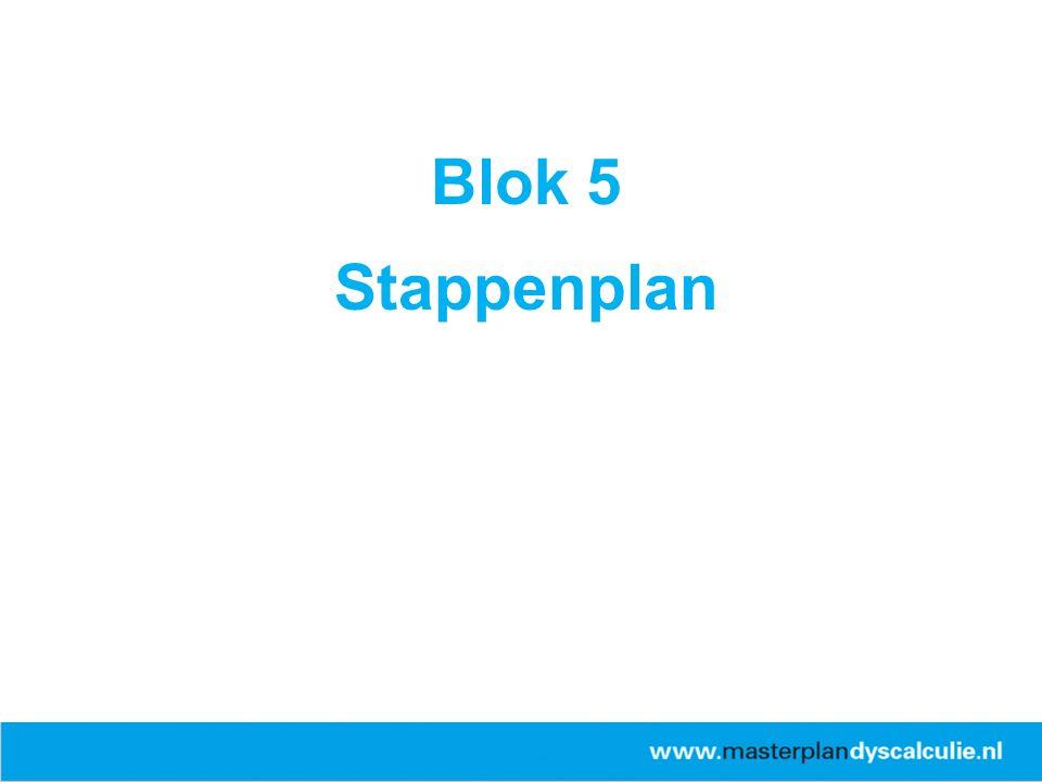 Blok 5 Stappenplan 26-4-2017